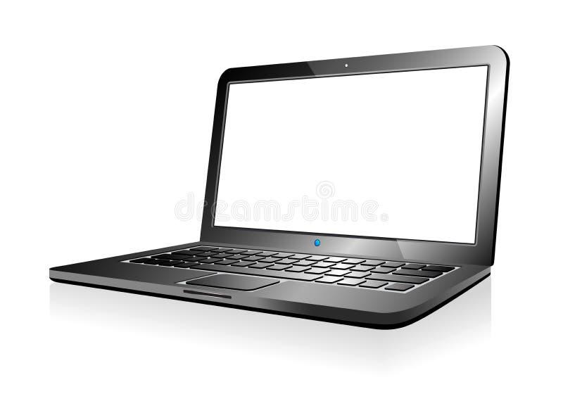 Laptop ilustração stock