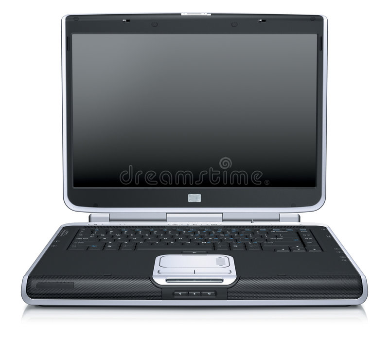 Download Laptop stock illustration. Image of casual, email, fingers - 4164954