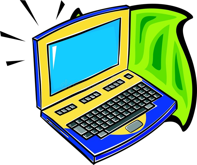 Laptop vektor abbildung