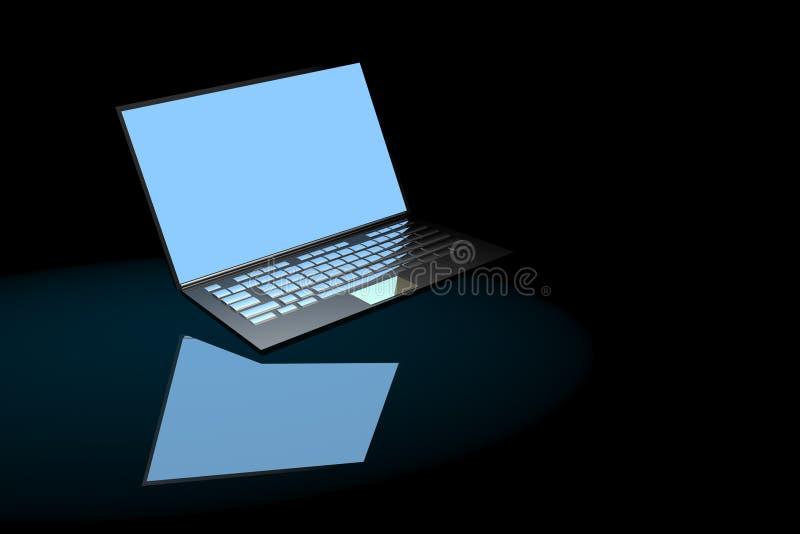 Laptop imagen de archivo libre de regalías