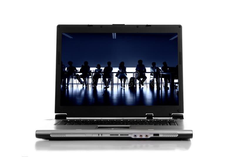 Laptop stockfotografie
