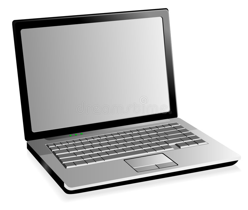 Laptop lizenzfreie abbildung