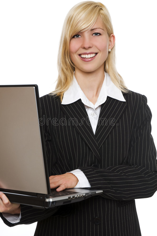 Download Laptop stock image. Image of attractive, isolated, success - 7144937