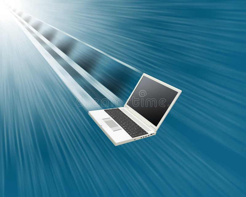 Laptop stock illustration