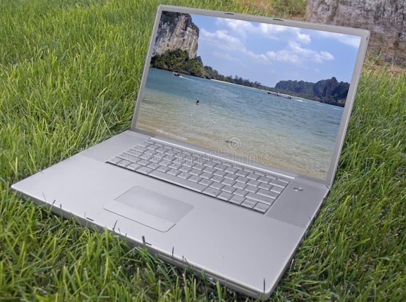 Download Laptop stockbild. Bild von silber, freiheit, frech, calculate - 854637