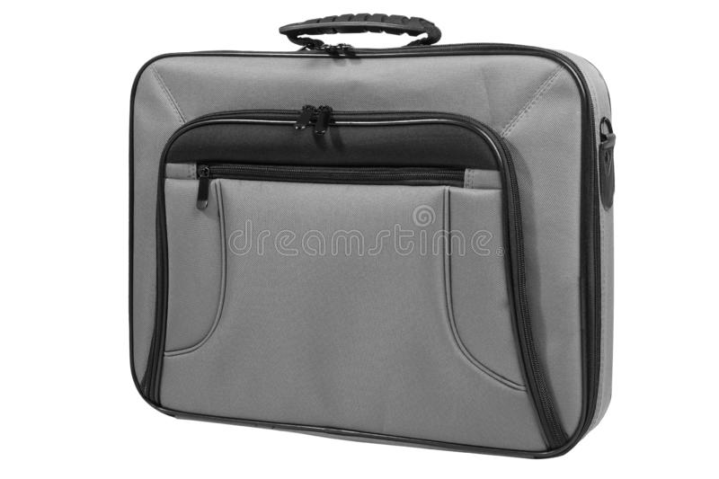 Modern laptop bag royalty free stock image