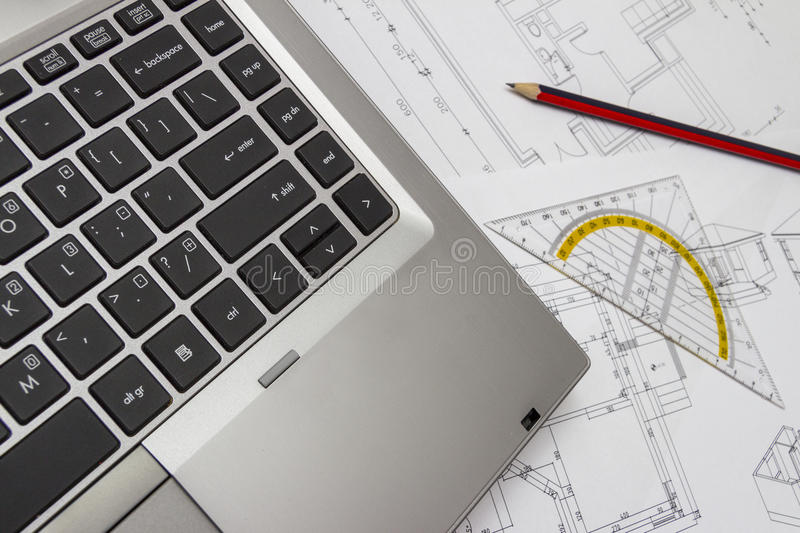 Laptop and blueprints stock image image of depth graph 45836837 download laptop and blueprints stock image image of depth graph 45836837 malvernweather Choice Image