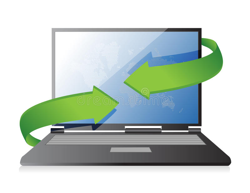 Download Laptop Changing Technology Concept Royalty Free Stock Image - Image: 29132296
