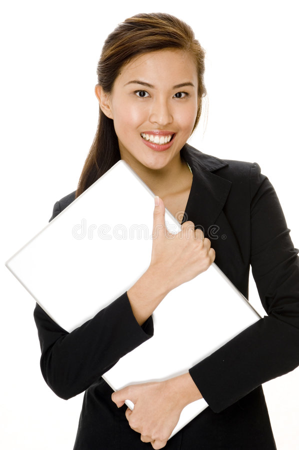 Download Laptop Computer stock photo. Image of manager, businesswoman - 1243892