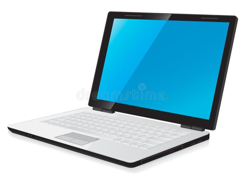 Laptop Computer royalty-vrije illustratie