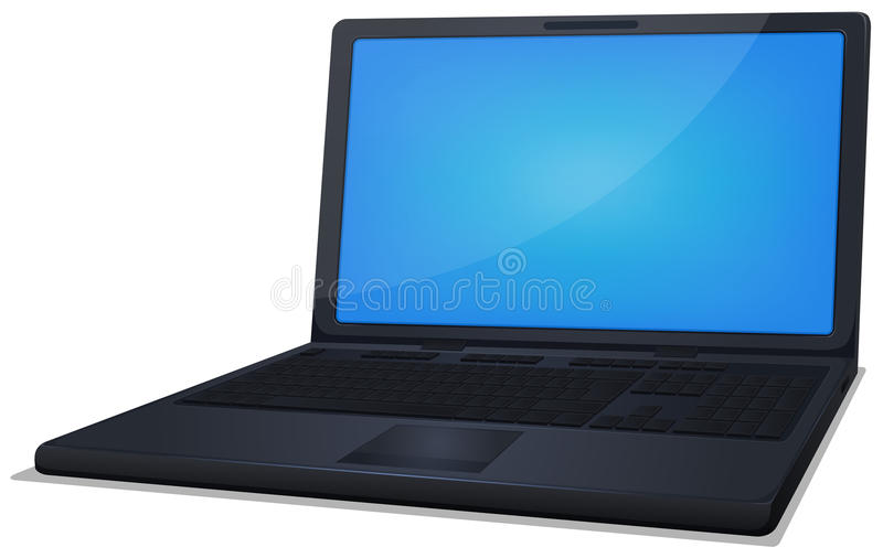 Laptop Computer stock illustratie