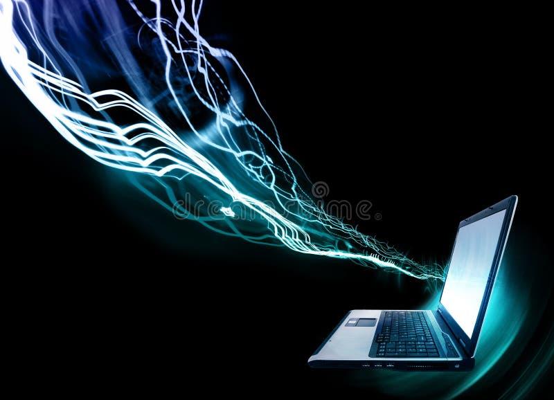 Laptop-Computer stockbild
