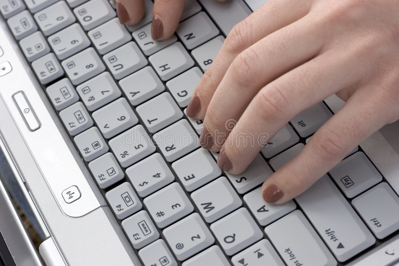 Laptop Computer royalty-vrije stock fotografie