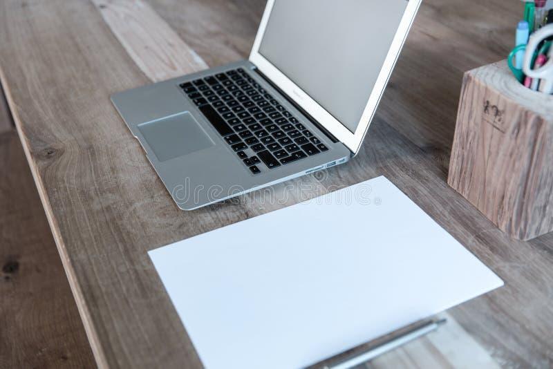 Laptop Computer On Desktop Free Public Domain Cc0 Image
