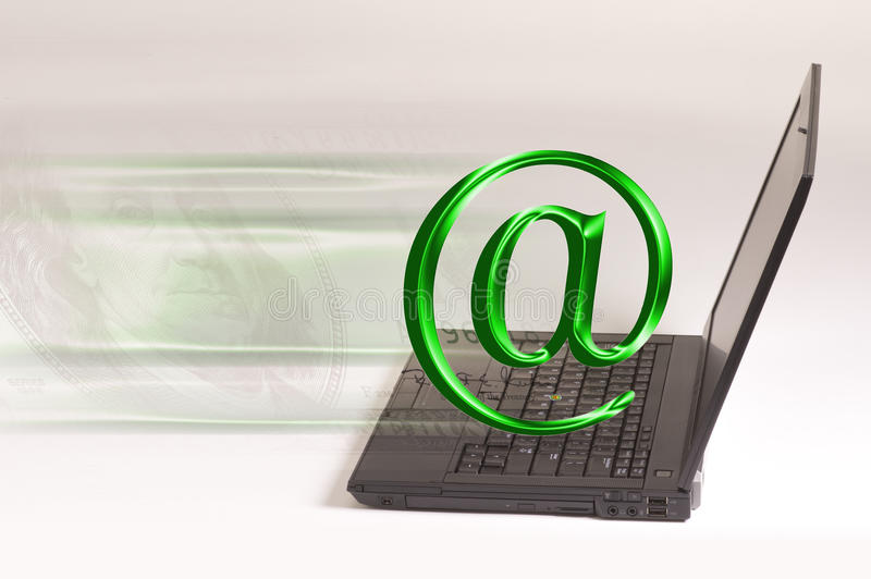 Download Laptop Computer And Email Stock Photo - Image: 22633810