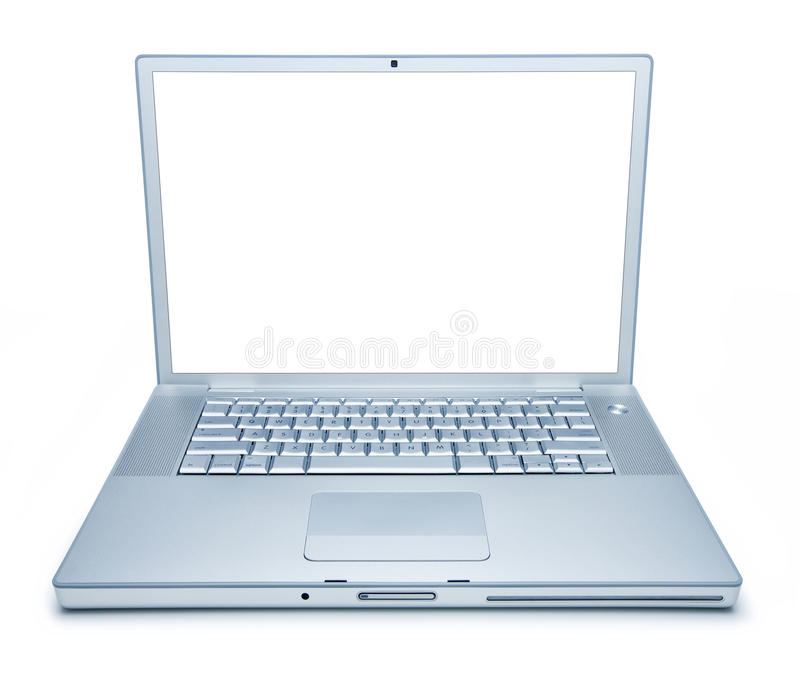 Download Laptop Computer Isolated stock image. Image of information - 16376989