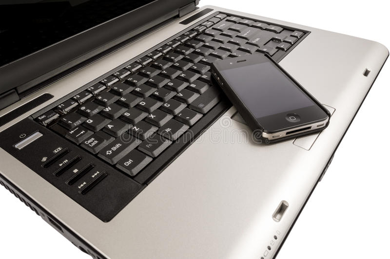 Download Laptop Computer And Mobile Smartphone Business Concept Stock Image - Image: 37057031