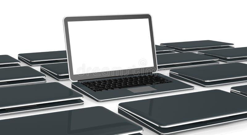Laptop computers vector illustratie