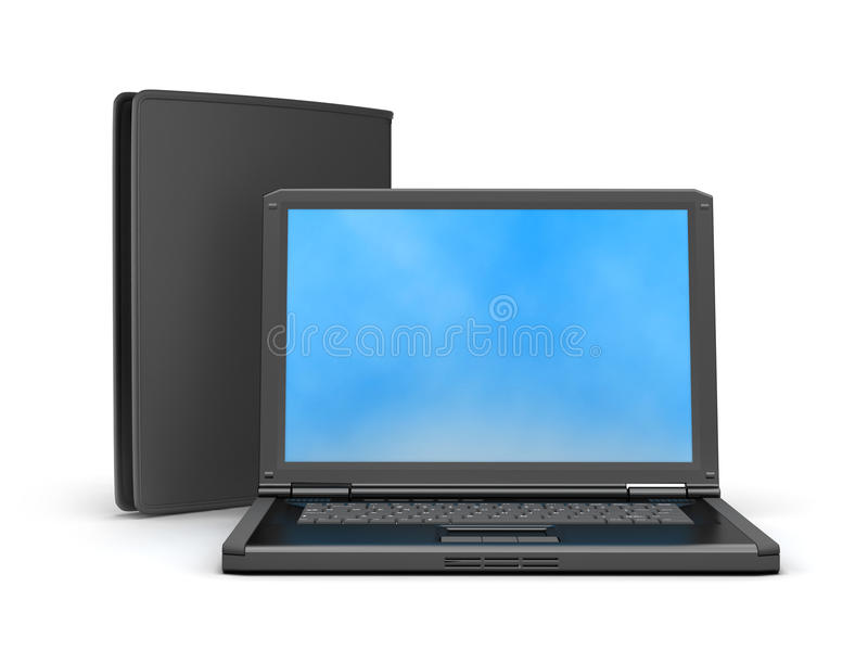 Download Laptop, Credit Card, Wallet And Bank Notes Stock Photo - Image of modern, cash: 39509906