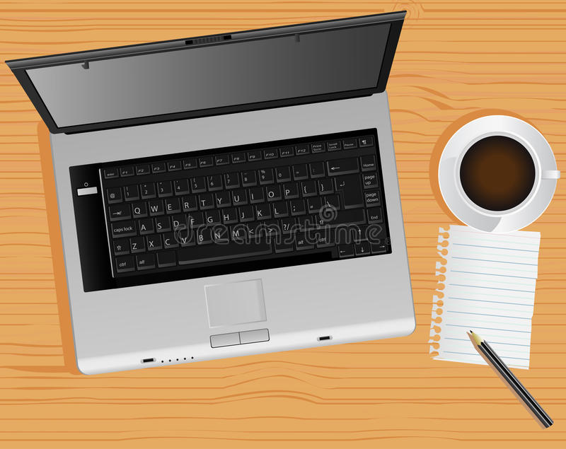 Download Laptop And Desk Stock Images - Image: 14087914