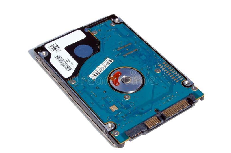 Laptop-Festplattenlaufwerk stockfoto
