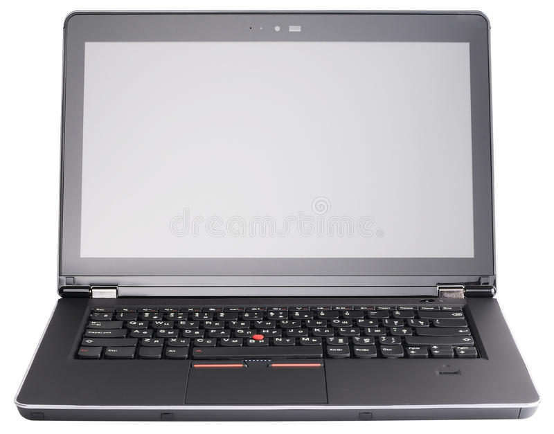 Download Laptop front view stock photo. Image of view, keyboard - 25997156