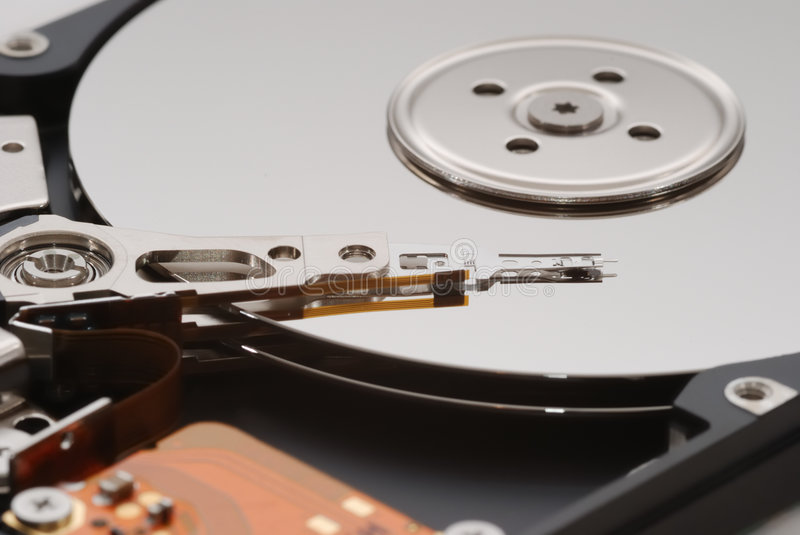 Laptop HDD Stock Photos
