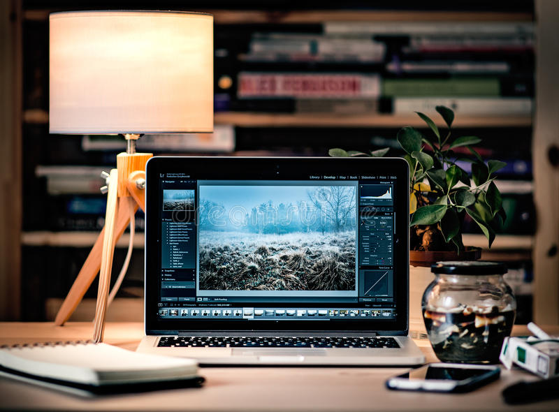 Laptop In Home Office Free Public Domain Cc0 Image