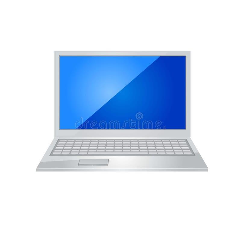 Laptop ikony wektor ilustracji