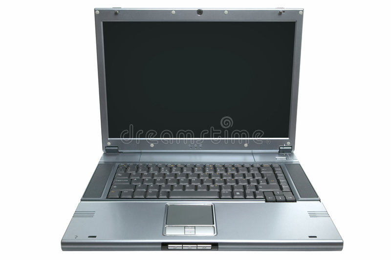 Download Laptop Isolated Royalty Free Stock Photo - Image: 3748175