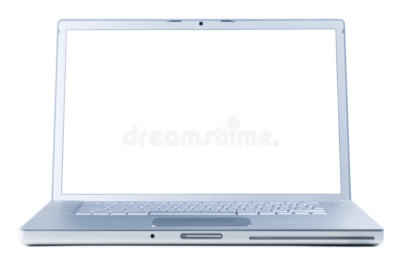 Download Laptop isolated stock illustration. Image of black, computer - 5568692