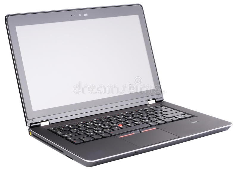 Download Laptop isometric view stock image. Image of isolated - 26806981