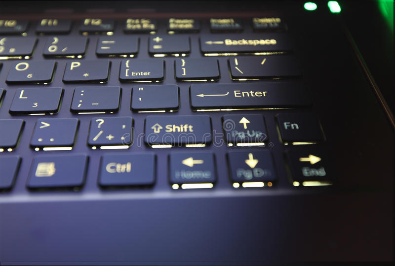 Download Laptop keyboard stock photo. Image of office, computer - 25552390