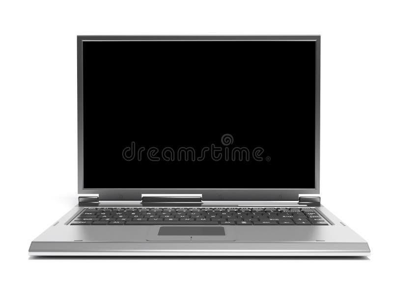 laptop komputerowy royalty ilustracja