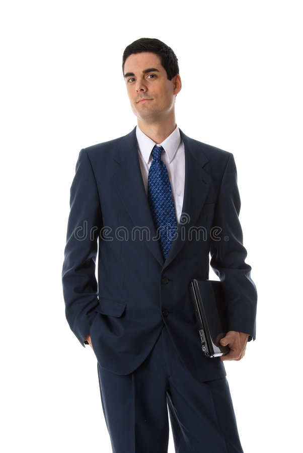 Laptop man royalty free stock photos