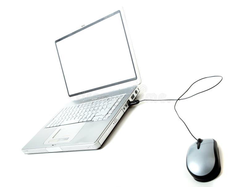 laptop mysz obrazy royalty free