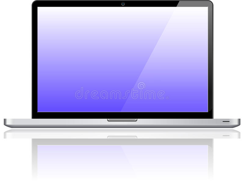 Download Laptop Notebook Personal Computer Stock Vector - Image: 39507839