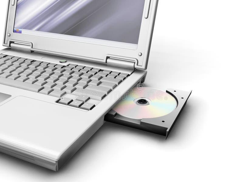 laptop ogólny royalty ilustracja