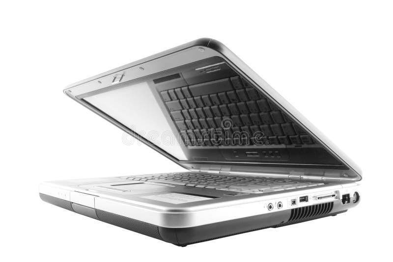 laptop otwarte zdjęcie stock