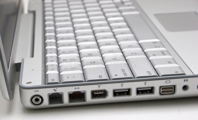 Laptop Ports royalty free stock photo