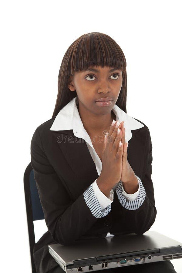 Download Laptop pray stock image. Image of black, pray, suit, help - 13781941