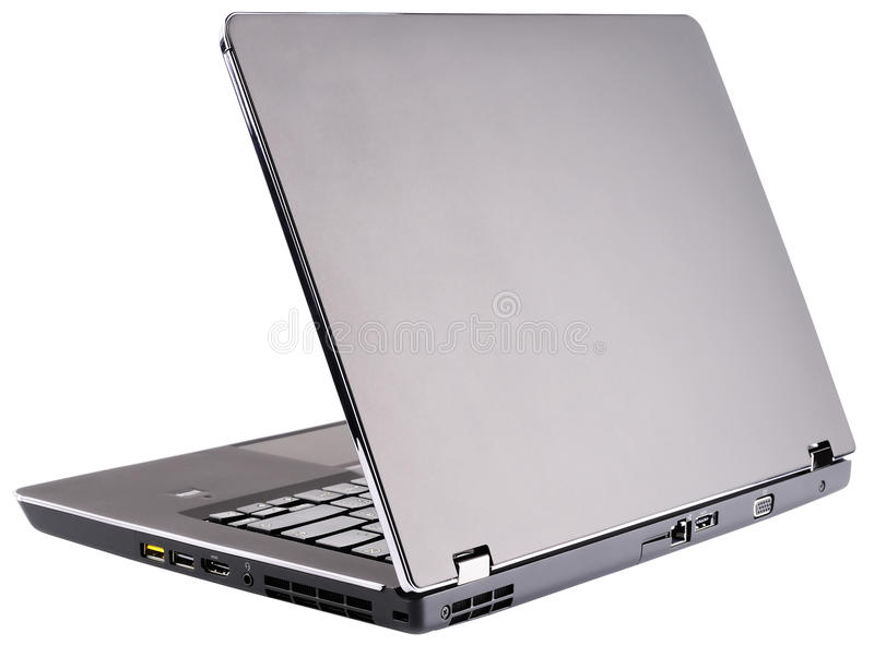 Download Laptop rear view stock photo. Image of rear, nobody, technology - 25912376
