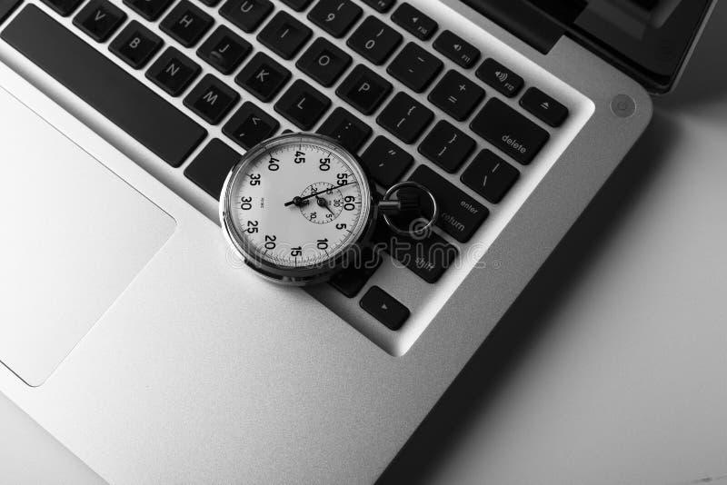 Download Laptop Time stock photo. Image of computer, clock, helmet - 25323158