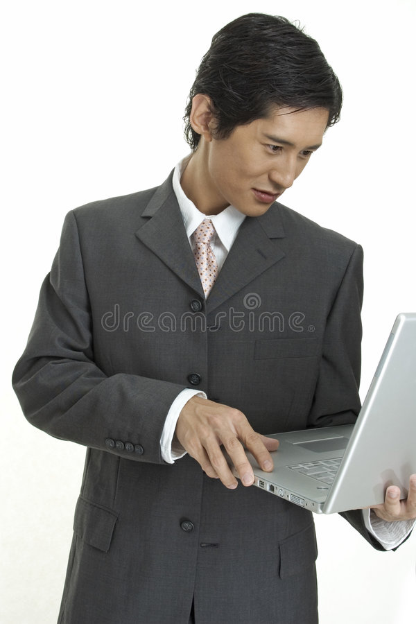 Download Laptop User stock image. Image of driven, formal, fashion - 100083