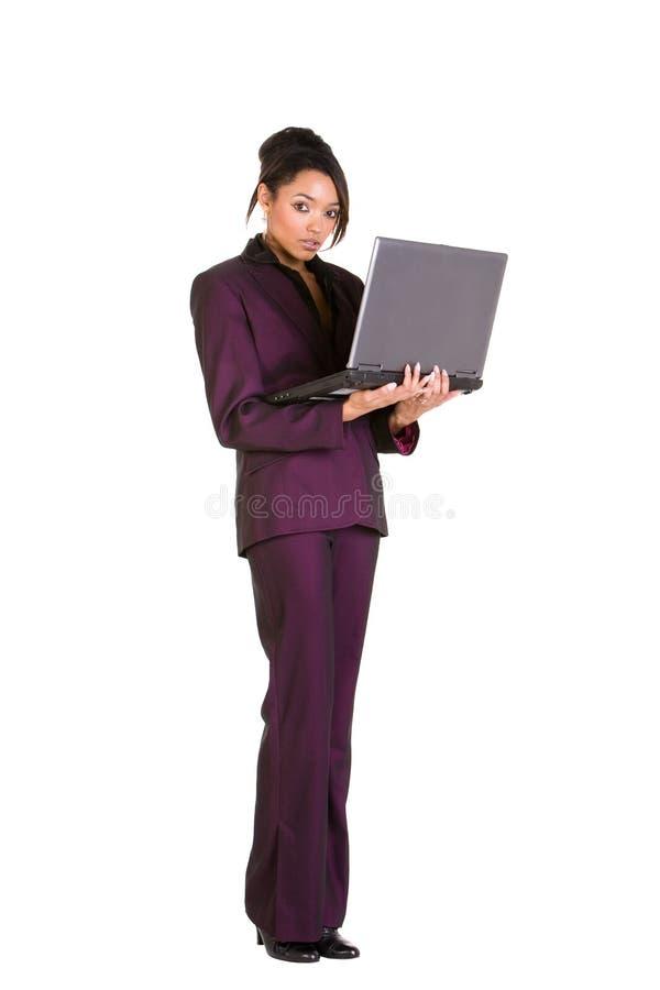 Download Laptop user stock image. Image of secretary, standing - 6745681