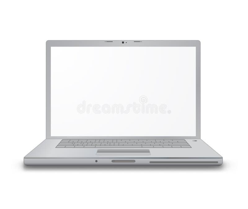 Laptop van de computer royalty-vrije illustratie