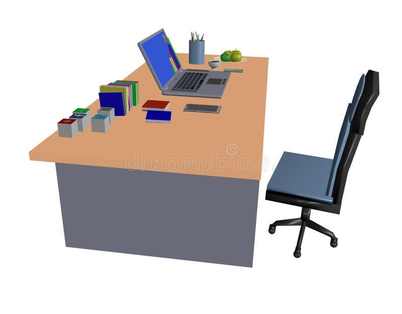 laptop werkstation stock afbeeldingen