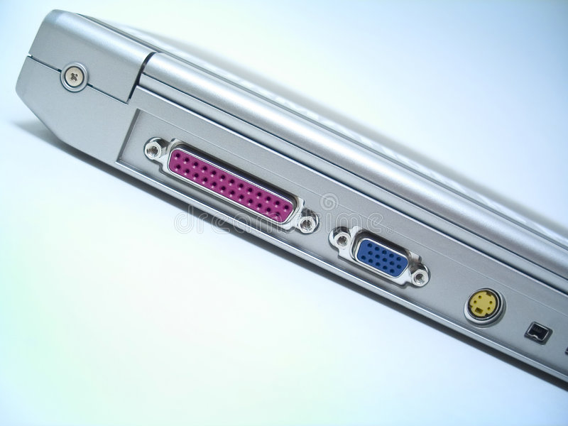 Download Laptop z powrotem obraz stock. Obraz złożonej z dotyk, workplace - 30425