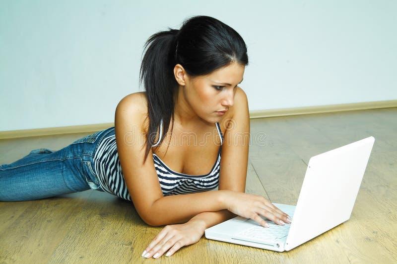 laptopa do komputerowego zdjęcie stock
