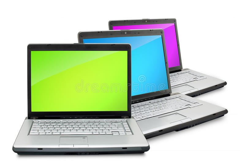Laptope stockfoto